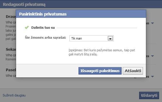 kaip paslėpti facebook draugus